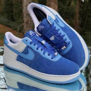 Nike Air Force 1 Varsity Royal University Blue 13
